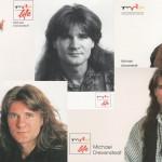 90er Autogrammkarten